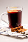 Hot wine Royalty Free Stock Images