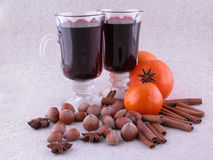 Hot wine Royalty Free Stock Photos