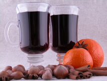 Hot wine Royalty Free Stock Photography