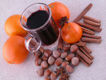 Hot wine stock images