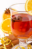 Hot wine punch Stock Photos