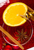 Hot wine punch Royalty Free Stock Image