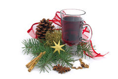 Hot wine punch Stock Photography