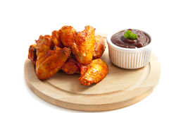 Hot wings Royalty Free Stock Images