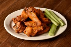 Hot wings Royalty Free Stock Photography