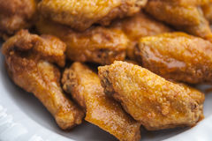 Hot Wings Royalty Free Stock Photos