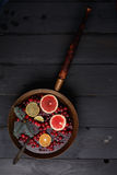 Hot winter punch Royalty Free Stock Images