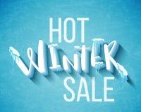 Hot winter sale Stock Photo