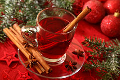 Hot winter tea Royalty Free Stock Photo