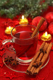 Hot winter tea Stock Photos