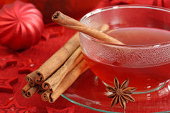 Hot winter tea Royalty Free Stock Photos
