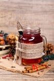 Hot winter tea Stock Image