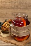 Hot winter tea Stock Photos