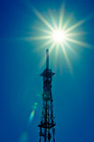 Hot wireless communication. Royalty Free Stock Photography