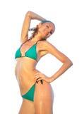 Hot woman in bikini Royalty Free Stock Images