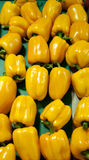 Hot yellow pepper Stock Image