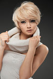 Hot young woman Royalty Free Stock Images