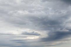 Hota tungt molnbjörnregn arkivbilder