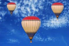 Hotair ballons Arkivfoto