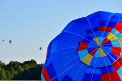 Hotair balloon Stock Image