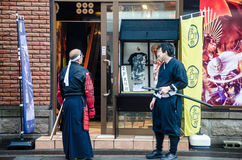 HOTARU, ΤΟΝ ΙΟΎΛΙΟ ΤΟΥ 2014 ΤΟΥ HOKKAIDO, ΙΑΠΩΝΊΑ -26: Μη αναγνωρισμένο cosplaye δύο Στοκ εικόνες με δικαίωμα ελεύθερης χρήσης