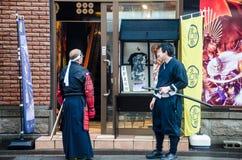 HOTARU, HOKKAIDO, JAPÓN -26 JULIO DE 2014: Cosplaye no identificado dos Imágenes de archivo libres de regalías