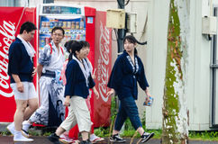 People in Japan Stock Photography