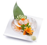 Hotate sashimi Royalty Free Stock Photos