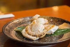 Hotate, scallop японца Стоковое Фото