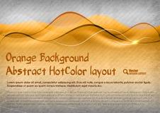 HotColor Background Stock Image