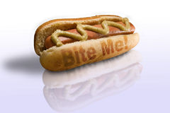 Hotdog Stockbild