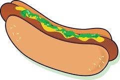 Hotdog stock illustratie