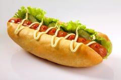Hotdog Arkivfoto