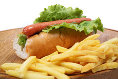 Hotdog Lizenzfreie Stockbilder