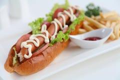 Hotdog imagem de stock