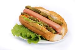Hotdog Fotografia de Stock