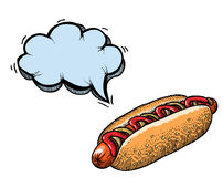 Hotdog-100 Photos stock