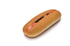 Hotdog bread Royalty Free Stock Images
