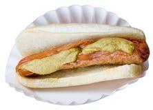 Hotdog and Bun Stock Photos
