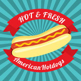Hotdog Bun Royalty Free Stock Images