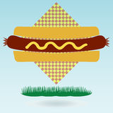 Hotdog Bun. Royalty Free Stock Photography