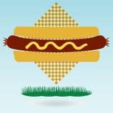 Hotdog Bun. Royalty Free Stock Photography