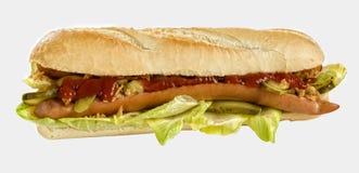 Hotdog deluxe Stock Photography