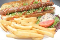 Hotdog food Stock Image