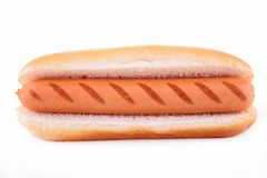 Hotdog isolated Royalty Free Stock Photo