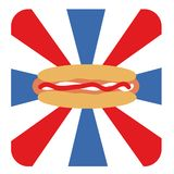 Hotdog's day Royalty Free Stock Photo