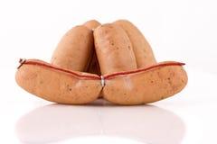 Hotdog sausage Stock Photos