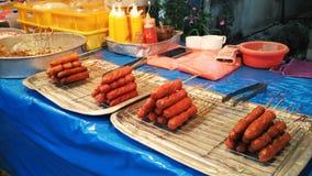 Hotdog snack Stock Image