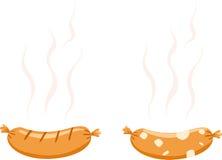 Hotdog vector Stock Image