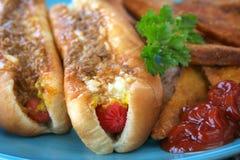 hotdogi Fotografia Royalty Free